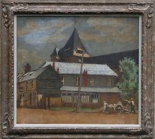 SYLVIA GOSSE EMVERMEU FRANCE SICKERT CAMDEN TOWN OIL PAINTING ART RBA 1881-1968