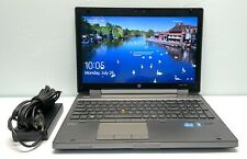 "HP EliteBook 8560w 15.6"" 2.8GHz i7-2640M 8GB RAM 500GB HDD nVidia Quadro 1000m"