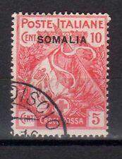 SOMALIA 1916 Croce Rossa 10c + 5c USATO (CL)