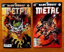 Dark Nights Metal # 6 Covers A & C Greg Capullo 1st Prints DC 2018 NM+