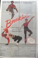 Breakin movie poster /1984/Lucinda Dickey ´´Shabba-doo``