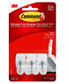 3M Command Hooks: Small Wire Hooks [3 Hooks per Pack] (White) 17067
