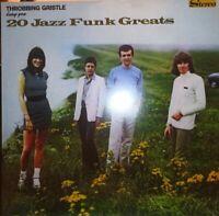 VINILE LP THROBBING GRISTLE - 20 JAZZ FUNK GREATS 33 GIRI INDUSTRIAL IR0008