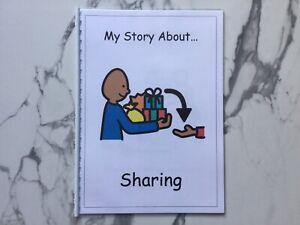 PECS/Boardmaker Sharing Social Story for Autism/ASD/SEN/ADHD/Aspergers