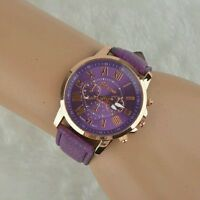 Women Dress Watch Fashion Leather Quartz Watch Casual Wristwatch