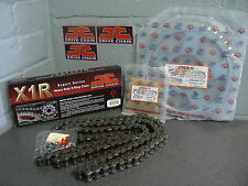SUZUKI GSX750F CHAIN AND SPROCKET KIT 98-04 HEAVY DUTY X-RING