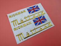 RICKMAN METISSE Classic Motorcycle STICKERS 3M Reflective stickers