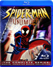 Spider-Man Unlimited ~ Blu-Ray COMPLETE Animated Cartoon Marvel TV Series