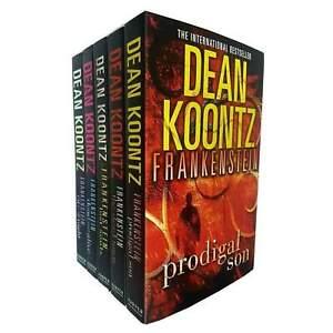 Dean Koontz Frankenstein Series Collection 5 Books Set Pack Inc Dead Town NEW