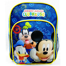 """Disney Mickey Mouse 10"""" Small Backpack - Boys Bag Toddler Extra Small"""