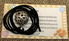 MEXICAN BOLA {HEARTS & STARS} CHIMING PENDANT PREGNANCY GIFT FOR ANY MUM TO BE