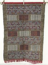 "Moroccan Berber Kilim Rug Carpet - Earth Tones - Tribal Design - 7'4"" x 5'2"""
