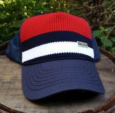 Gongshow Shotblocker USA Color Block Wheel Snipe Party Hockey Mesh Snapback Hat