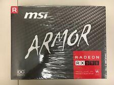 GENUINE NEW MSI Radeon RX 580 ARMOR 8G OC GDDR5 Video Card
