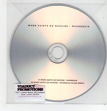 (FF461) When Saints Go Machine, Mannequin - DJ CD