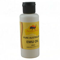 100% Pure Australian Emu Oil Perfect For Skin And Hair Muscles & Joints 60 ml
