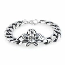 Skull & Cross Wrenches Bracelet By Controse