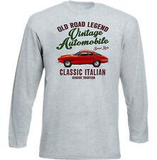 AUTO D'EPOCA ITALIANE ALFA ROMEO GIULIA 1600 SPRINT SPECIALE-Nuovo T-shirt di cotone