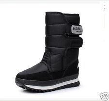 Beautiful Women Dual-purpose boots Winter Warm Snow Boots Shoe full size