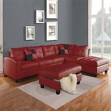 Red Sectional Sofas For Sale Ebay