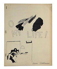 O My Life! by ANNE WALDMAN ~ First Edition 1969 ~ Beat Poetry Female Beats 1st