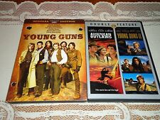Young Guns & Young Guns II (2 DVD Widescreen Set) Emilio Estevez, OOP RARE