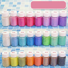 1Pc Mica Pigment Powder Rainbow Uv Resin Epoxy For Diy Jewelry Craft Nail Art Us