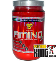 *SALE BSN AMINO X 435G 30 SERVE BLUE RAZZ BCAA AMINOS INTRA WORKOUT BSC EXP 5/18
