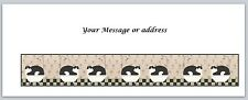 30 Personalized Return Address Labels Cats Buy 3 get 1 free (ct230)