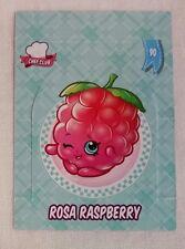 Shopkins Season 5-6 Collector Card 90 Rosa Raspberry Pop Up Card - Free Post
