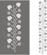 Schablonen Stupfschablone Wandschablone Malerschablonen Dekorfries  Blattranke 1