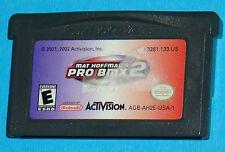 Mat Hoffman's Pro BMX 2 - Game Boy Advance GBA Nintendo - USA