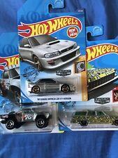 2020 Hot Wheels Zamac~Subaru, Nova, Dodge~lot of 3~FREE SHIPPING in the US!