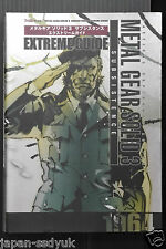 Metal Gear Solid 3 Snake Eater Extreme Guide book OOP