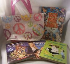 5pc Girls Reading Set 4 PB Books plus Bag Bailey School Kids 1001 Jokes and More