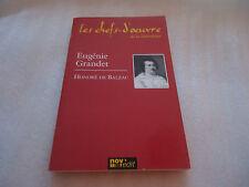 """LIVRE - """"EUGENIE GRANDET """" - HONORE DE BALZAC - Les chefs-d'oeuvre"""