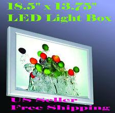 """A3 Led Slim Aluminum Frame Light Box 18.5"""" x 13.75"""" Advertising Lightbox Poster"""