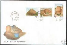 Aland Ice Sheet Mainlands Glaciers Tracks Aland Finland FDC 1995