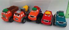 Tonka Lil Chuck & Friends Maisto Hasbro 5 Construction Truck Lot
