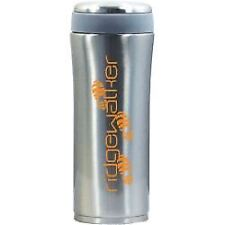 RidgeWalker Thermal Vacuum Flask Mug 400ml Brushed Travel Cup Commuter Insulated
