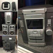 New listing Sony Mhc-Gx40 Hi-Fi 2.1 Stereo System w/ Subwoofer 3-Cd, Cassette, Am Fm Radio
