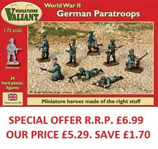 VALIANT miniatures-wwii tedesco i paracadutisti KIT / WAR gaming.