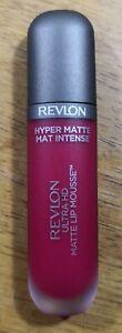 REVLON HYPER MATTE INTENSE ULTRA HD MATEE LIP MOUSSE 100 RED