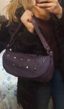 Borsa bag borsetta ragazza O bambina viola borchie bauletto tante BORSE DONNA!!