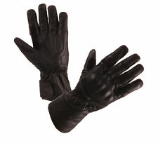 MODEKA Aras Motorradhandschuhe Leder Handschuhe schwarz Gr. 10 = XL NEU
