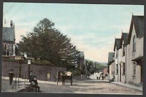 Postcard Trefriw Village nr Llanrwst Conwy Wales early view by Wrench Series