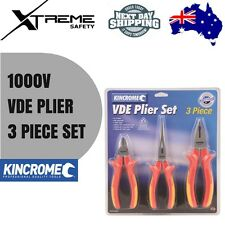 Kincrome 1000V VDE Plier Set 3 Piece K4005