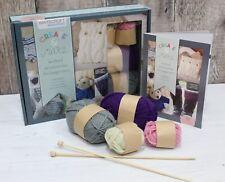 Knitting, Crochet & Unicorn Sewing Beginners Kit Wool Needles Felt Instructions