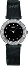 NEW Longines La Grande Classique Black Dial Diamond Women's Watch L43080572