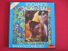 3 LP BOX SET - 100 ANOS DE CARNAVAL - BANDA DO CAECAO (1973) POLYDOR BRAZIL NM